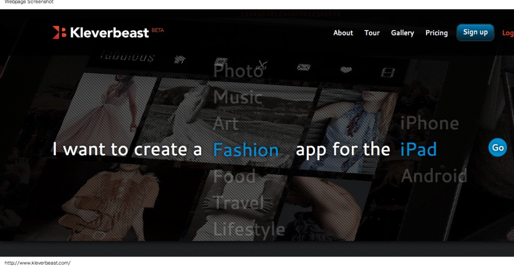 Kleverbeast - Create Beautiful Mobile Apps for iPad, iPhone Android