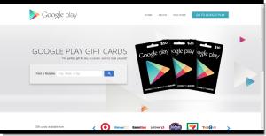 Google Play-guiftcards