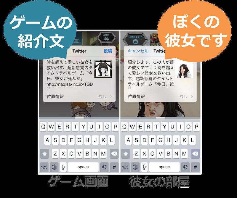 kanojyo_sharetext